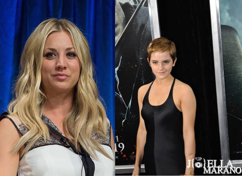 Kaley Cuoco-Sweeting and Emma Watson and feminism